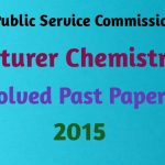 PPSC Chemistry Solved Past Papers MCQs PDF