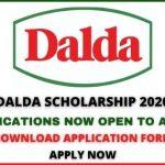 DALDA Foundation Scholarship