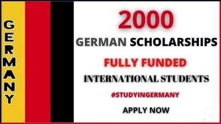 2000+ Scholarships in Germany 2021