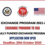 YES Youth Exchange Program 2021-2022