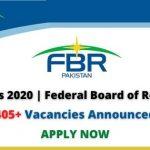 FBR Jobs 2020