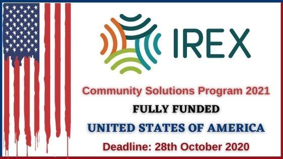 Community Solution Program 2021