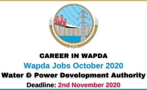 Wapda Jobs October 2020