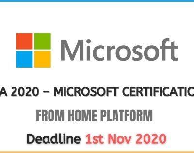 Microsoft Learning Program 2020 – MSIA 2020
