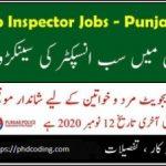 PPSC sub inspector jobs 2020