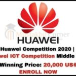 Huawei Competition 2020 | Huawei ICT Competition Middle East