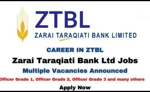 ZTBL JOBS 2020