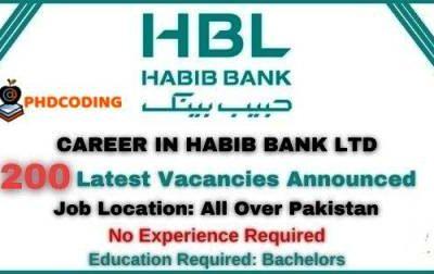 HBL Jobs 2020
