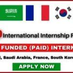 List of International Internships 2021