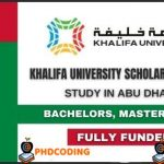 Khalifa University Scholarship 2021