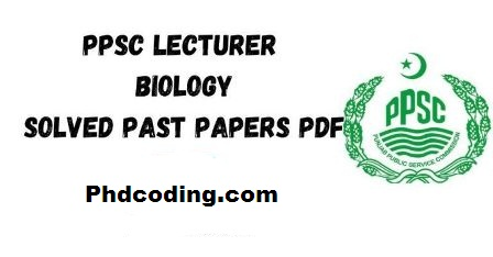 ppsc biology past papers pdf