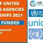 List of United Nations Agencies Internships 2021