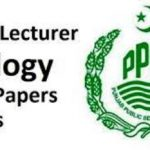 lecturer biology ppsc past papers
