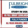 US Fulbright Scholarship 2022